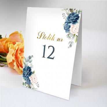 Numery stolików na wesele Chabrowe 01