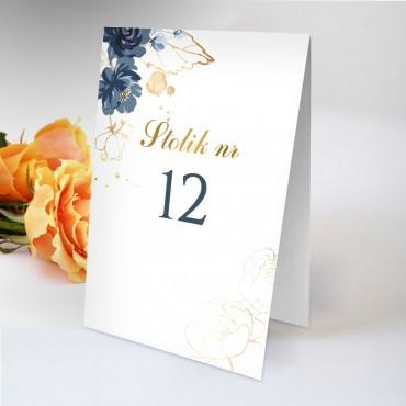 Numery stolików na wesele Chabrowe 05