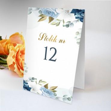 Numery stolików na wesele Chabrowe 08