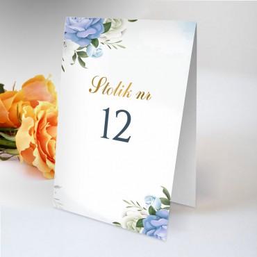 Numery stolików na wesele Chabrowe 09