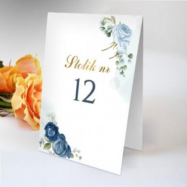Numery stolików na wesele Chabrowe 10